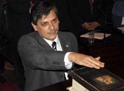 Vocal Daniel Oscar Posse en la jura de su cargo 09.09.2010