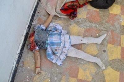 Islamistas cortan la cabeza de esta niña cristiana iraquí.
