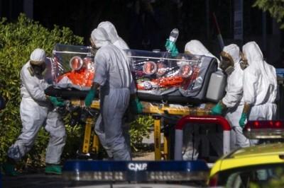 Traslado del sacerdote español en condiciones de seguridad extrema. Foto Europa press