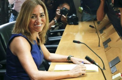 La exministra de la nación española, Carme Chacón - Foto EFE