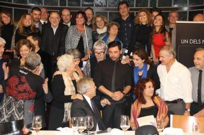 """foto de familia del Loby """"uno de los nuestros Christa Leem"""" 2013 . Foto Uno De los nuestros"""