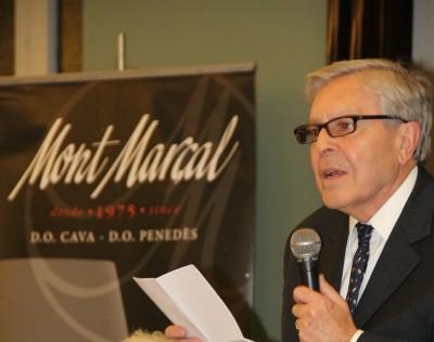 """El fiscal Carlos Jiménez Villarejo, foto archivo del loby Izquierdista """"Uno de los nuestros"""""""
