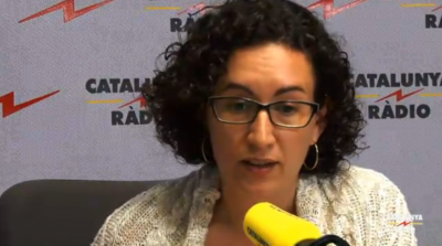 Secretaria general de ERC, esta mañana en Cat. Radio